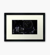 Full Moon On A Windy Night  4 Framed Print