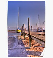 Jetty at Skippool Creek Poster