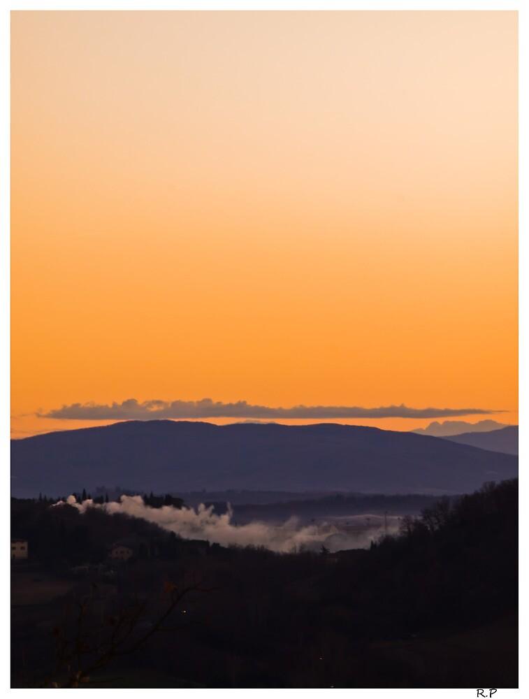 Tuscany sunset. by richi90