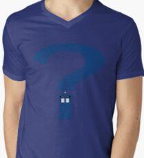 Who? Men's V-Neck T-Shirt
