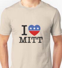 I Heart Mitt Unisex T-Shirt