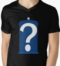 Who are you? Men's V-Neck T-Shirt