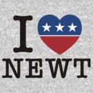 I Heart Newt by 72ndRedPenguin