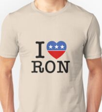 I Heart Ron Unisex T-Shirt