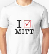 I Vote Mitt Unisex T-Shirt
