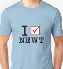 I Vote Newt T-Shirt