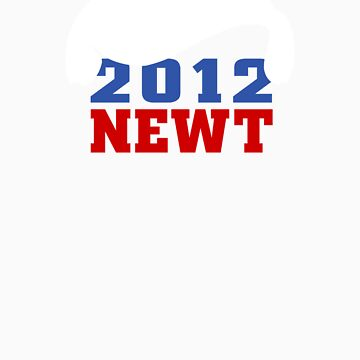 Vote Newt 2012 by 72ndRedPenguin