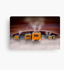 Napiers in the Mist Canvas Print