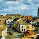 Le village de Treignes Belgium by Gilberte