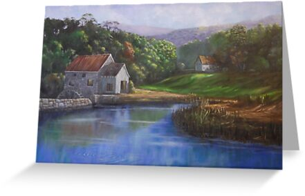 Old Stone Mill by Jeff Jackson