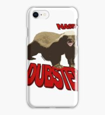 Honey badger dont give a sh*t iPhone Case/Skin