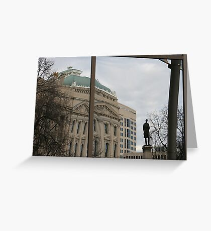 Indiana Reflecting Greeting Card