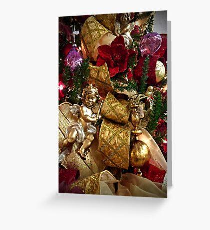 Christmas Cherub Greeting Card