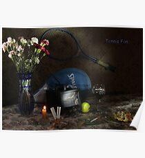 Tennis Fan Poster
