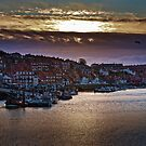 Sunset over the Old Town by David Milnes