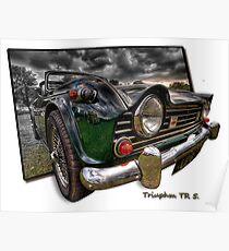 Triumph TR 5 (H.D.R. and O.O.B.) Poster