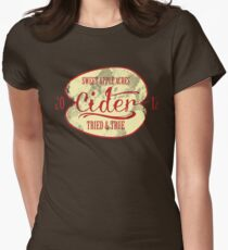 Sweet Apple Acres' Cider Womens Fitted T-Shirt