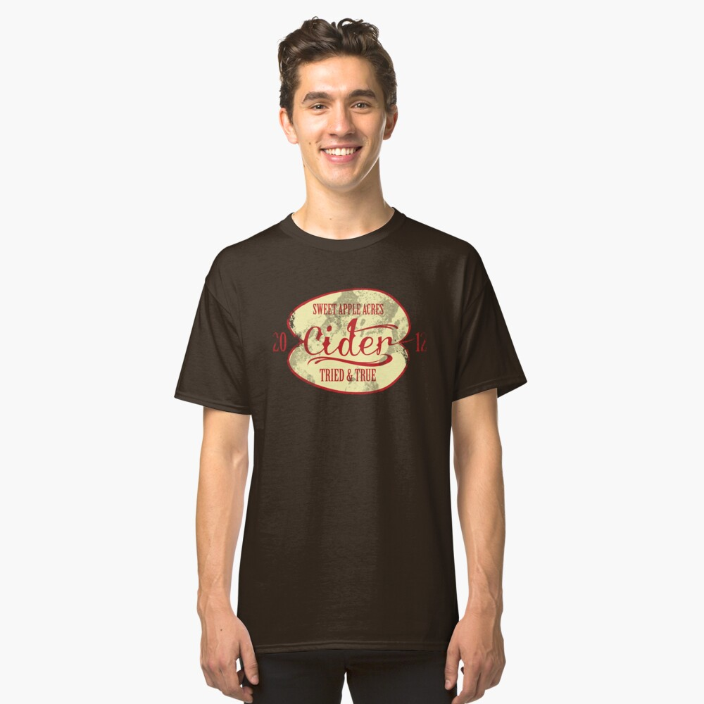 Sweet Apple Acres' Cider Classic T-Shirt Front