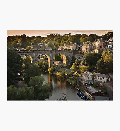 Knaresborough sunset Photographic Print