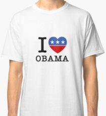 I Heart Obama Classic T-Shirt