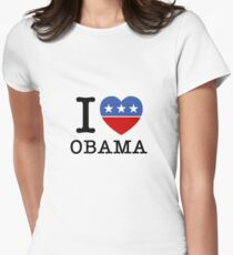 I Heart Obama Women's Fitted T-Shirt