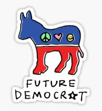 Future Democrat Sticker