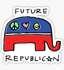 Future Republican Sticker