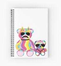 Cuaderno de espiral Rainbow Bear