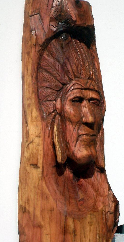 Indian Chief by Charles Sims