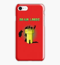 Drain Lords iPhone Case/Skin