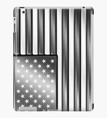 Vinilo o funda para iPad American Flag 2 - USA - Metallic - Steel