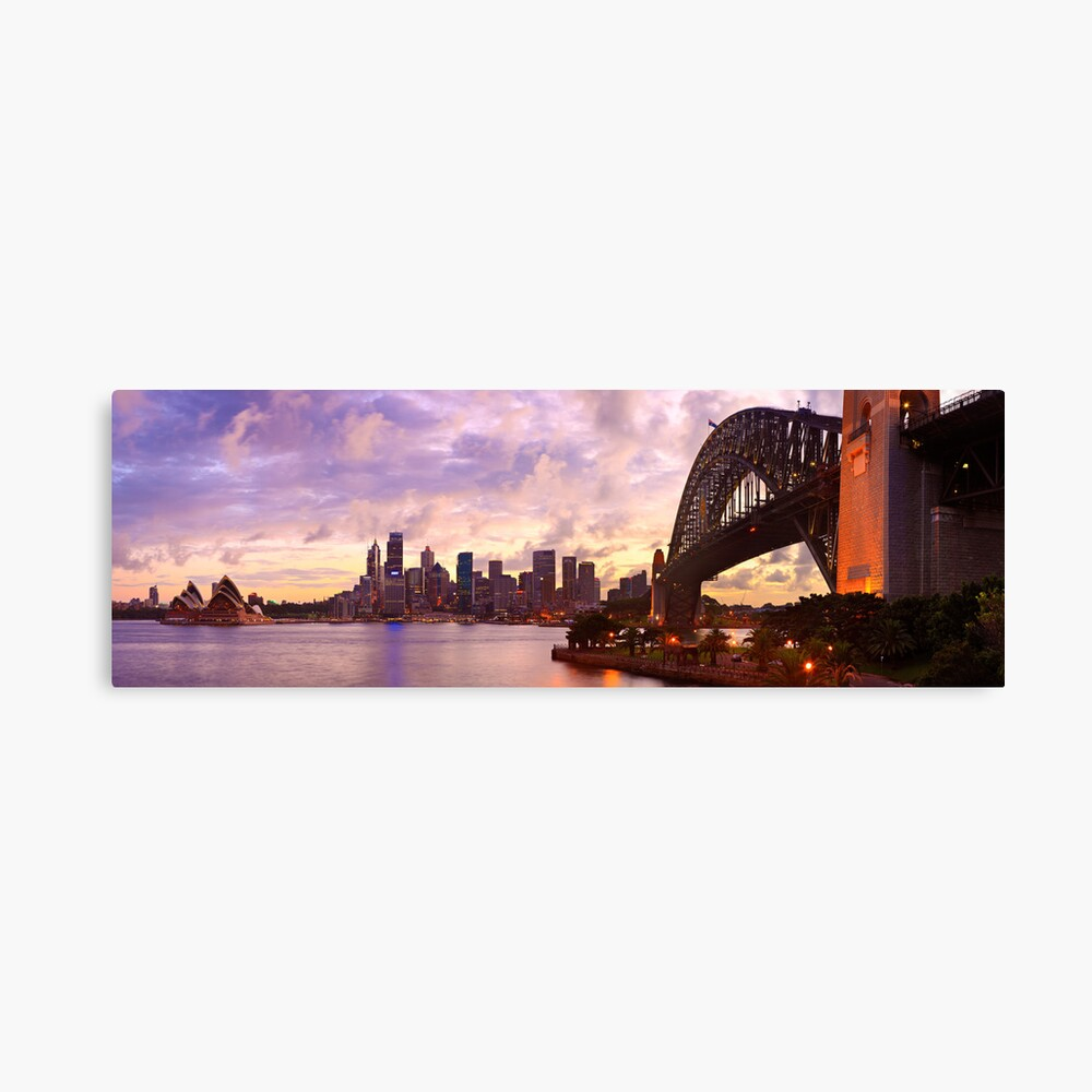 Sydney Twilight, New South Wales, Australia Canvas Print