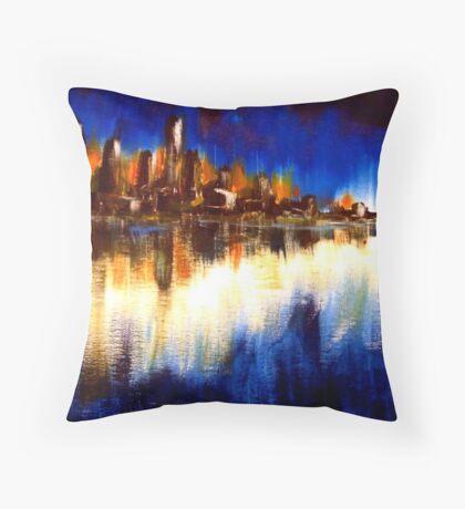 Cityglow Throw Pillow