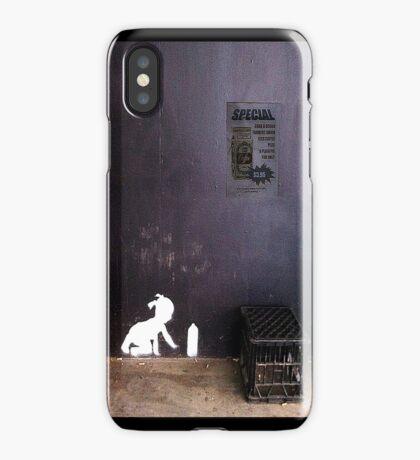"""""""Spray Can Baby"""" - iPhone case iPhone Case"""