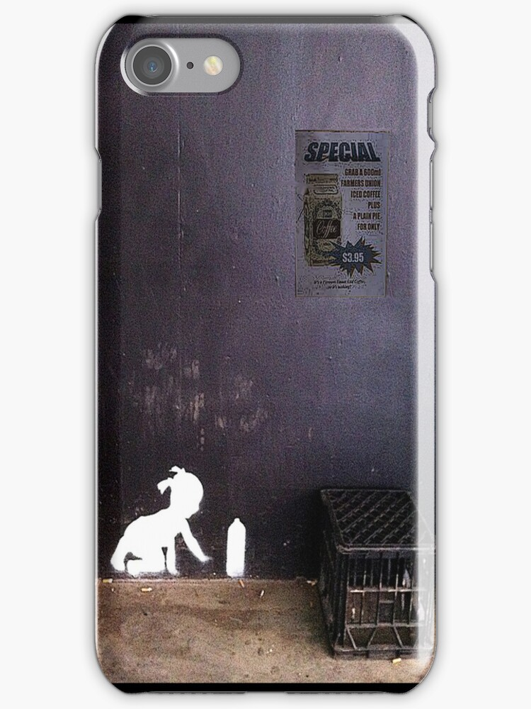 """""""Spray Can Baby"""" - iPhone case by Michelle Lee Willsmore"""