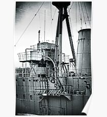 HMS Caroline Poster