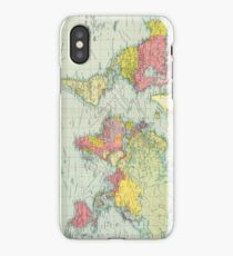 Vintage Political Map of The World (1922) iPhone Case/Skin