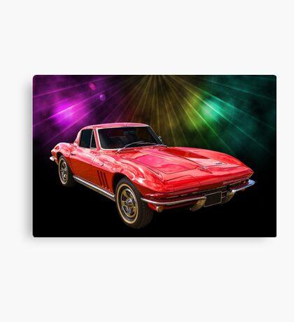 66 Corvette Canvas Print
