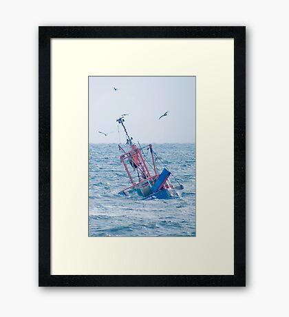 The Girl Rona Framed Print