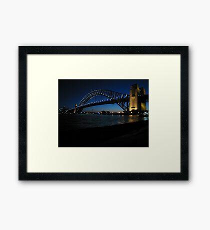 Sydney Habour Bridge Framed Print