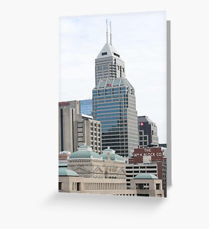 Indy Buildings Greeting Card
