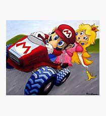 Mario Kart Double Dash Ölgemälde Fotodruck