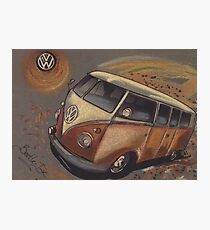 Space Bus Photographic Print