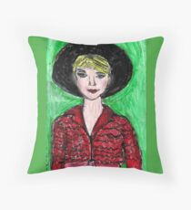 Carey Mulligan En Vogue Throw Pillow