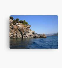 Sea Rocks Canvas Print