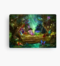 The Dancing Auroras Canvas Print