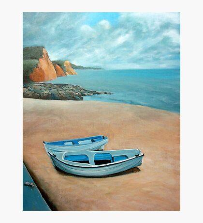 Mevagissey beach Photographic Print