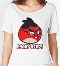 Angry Nerds Women's Relaxed Fit T-Shirt