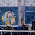 bathroom with beer can by Ben Pateman