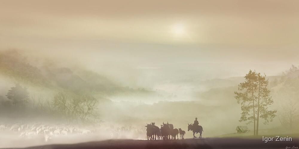 Herdsman by Igor Zenin